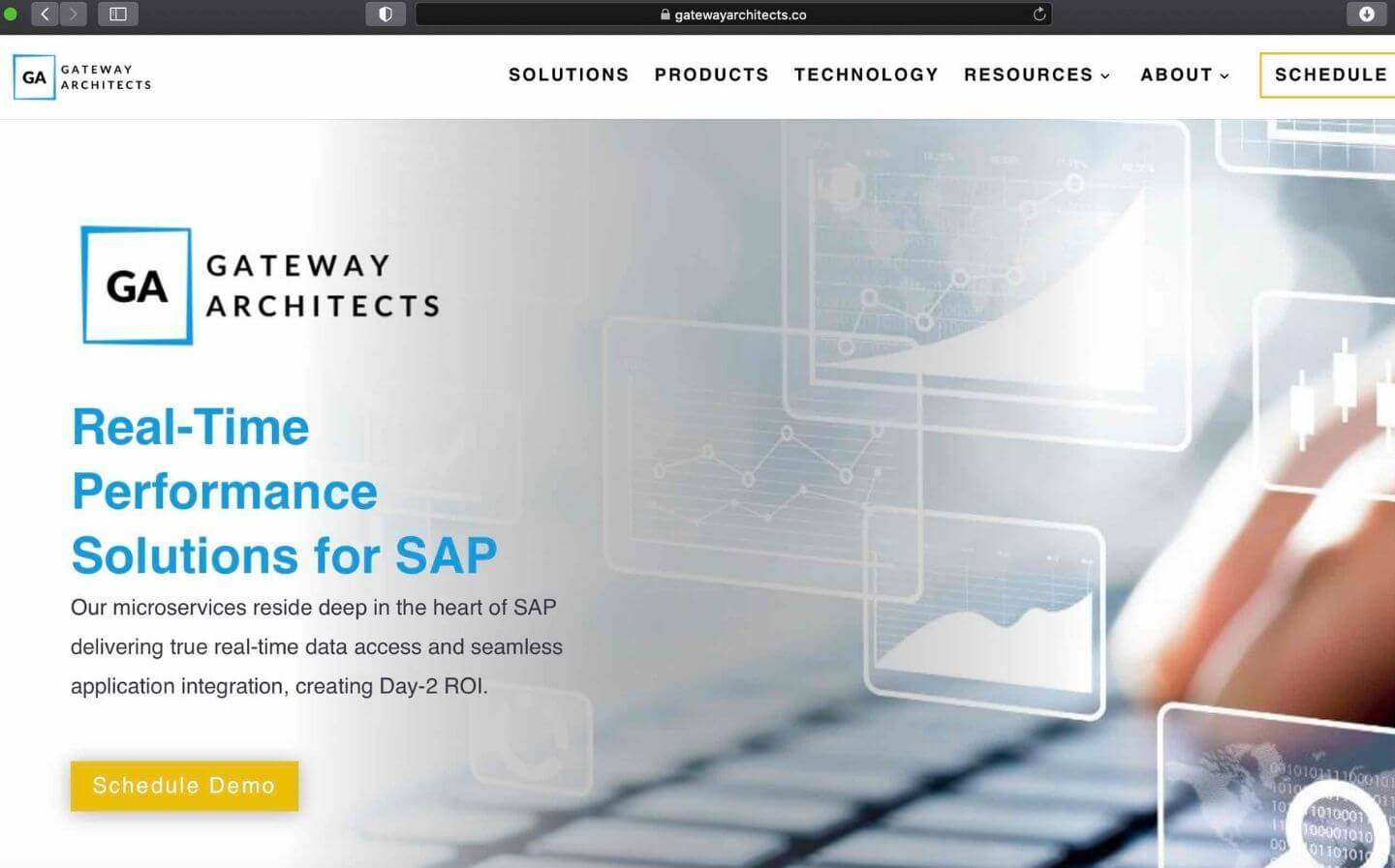 Gateway Architects Website
